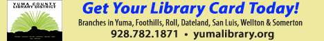 Yuma County Library banner